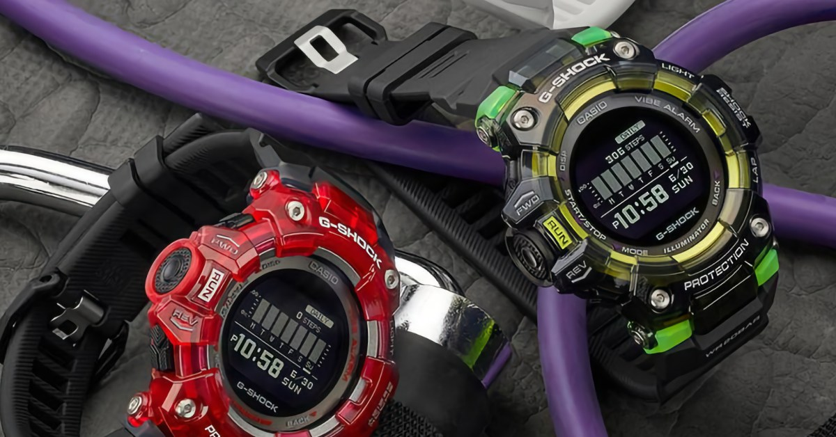 New G-SHOCK Vital Series pairs smartwatch capabilities with 'vivid light-collecting resin' - 9to5Toys