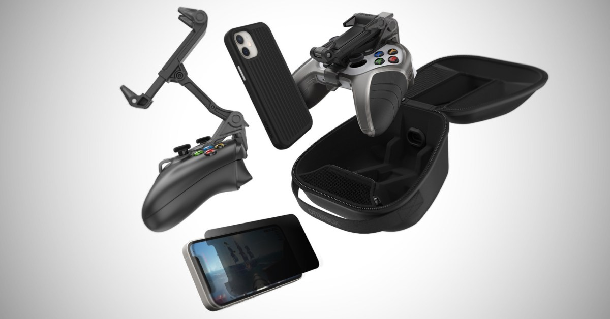 New OtterBox mobile gaming accessories aim to elevate streaming, Apple Arcade, more