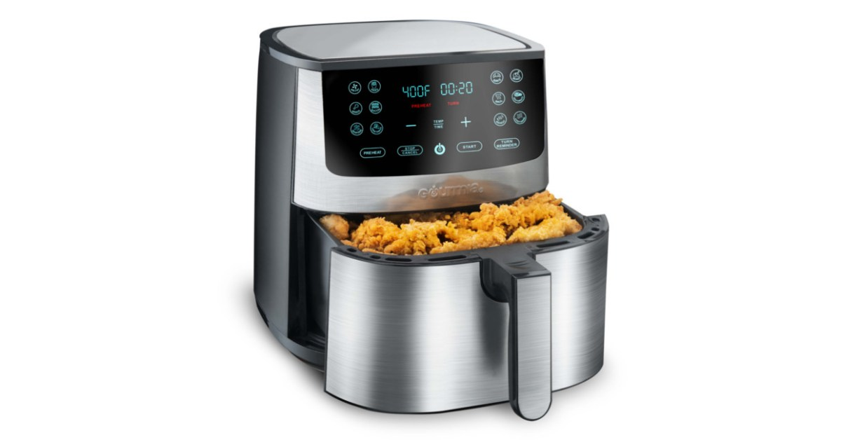 Lock-in Gourmia's 8-qt. steel digital air fryer for the family at just $49 shipped today - 9to5Toys