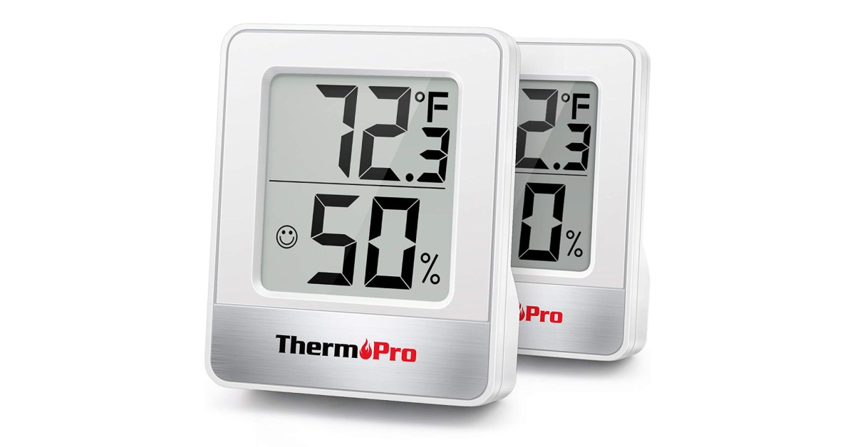 Grab two ThermoPro Digital Hygrometers while they're under $6 each at Amazon - 9to5Toys