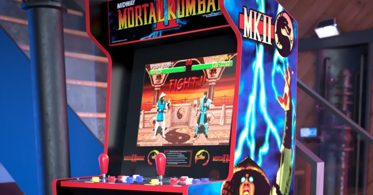 Arcade1Up Mortal Kombat Cabinet debuts with 12 retro titles - 9to5Toys