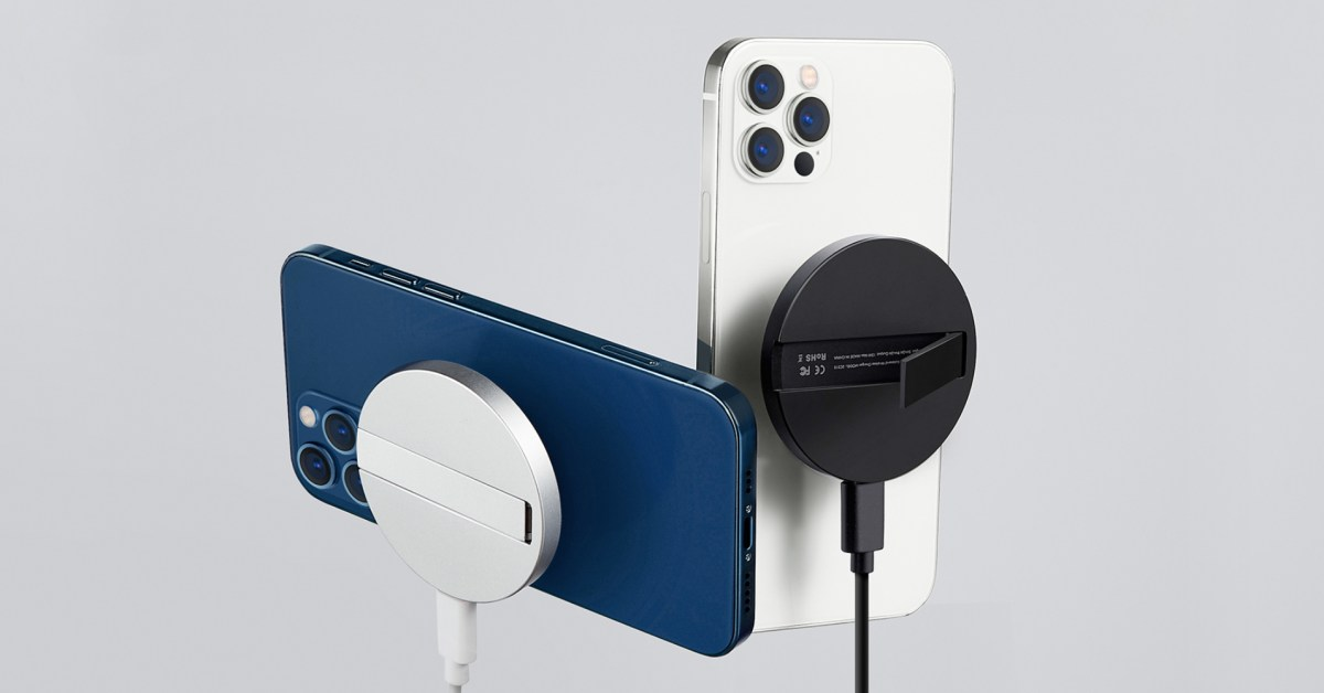 ESR's new MagSafe Kickstand doubles as a charging puck - 9to5Toys