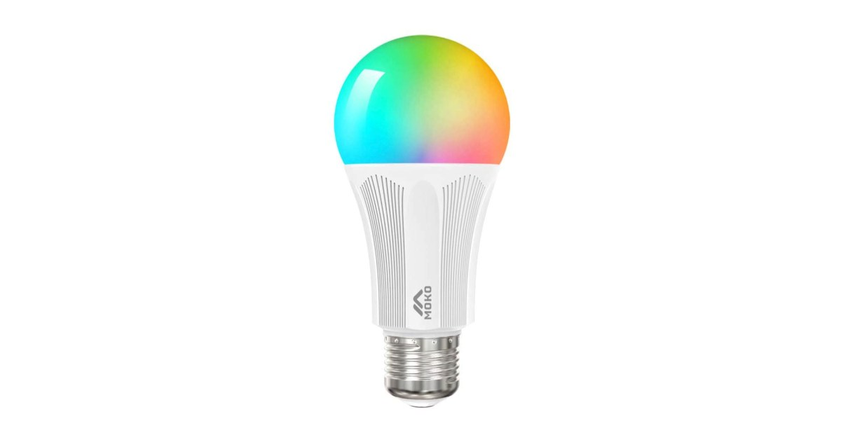 This smart RGB LED light bulb doesn't need a hub and is under $6 Prime shipped (Save 41%) - 9to5Toys
