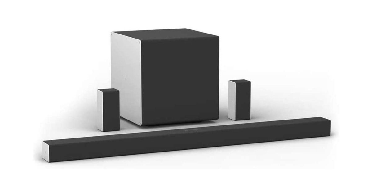 VIZIO's 5.1.4-Ch. Dolby Atmos sound system upgrades your home theater at $200 off - 9to5Toys