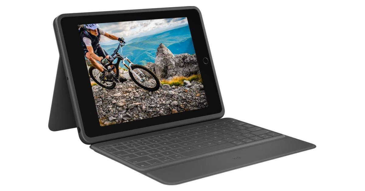 Logitech's Rugged Folio Keyboard for latest 10.2-inch iPad drops to $130 (New 2021 low) - 9to5Toys