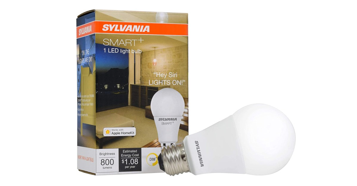 Amazon Sylvania smart/LED light bulb sale from $5: HomeKit A19, 12-packs, more up to 40% off - 9to5Toys