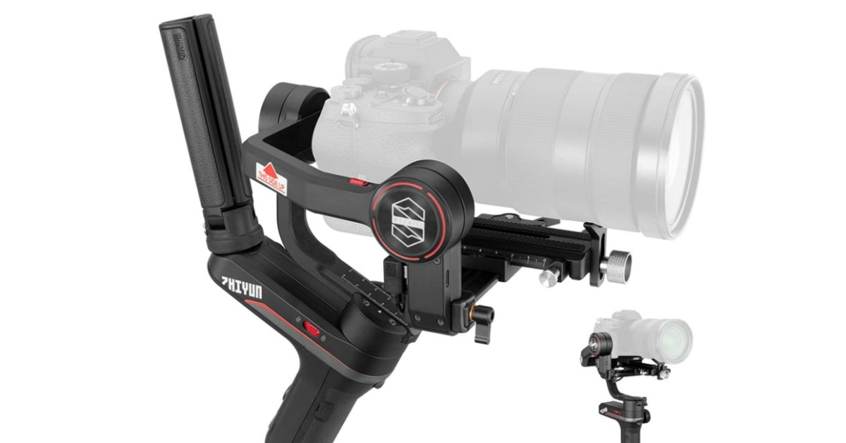 Complete your DLSR rig with Zhiyun's WEEBILL-S Handheld Gimbal for $269 (Reg. up to $400) - 9to5Toys