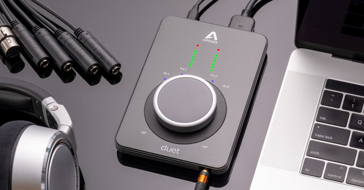 Apogee intros gorgeous new Duet 3 'optimized for Logic Pro' - 9to5Toys