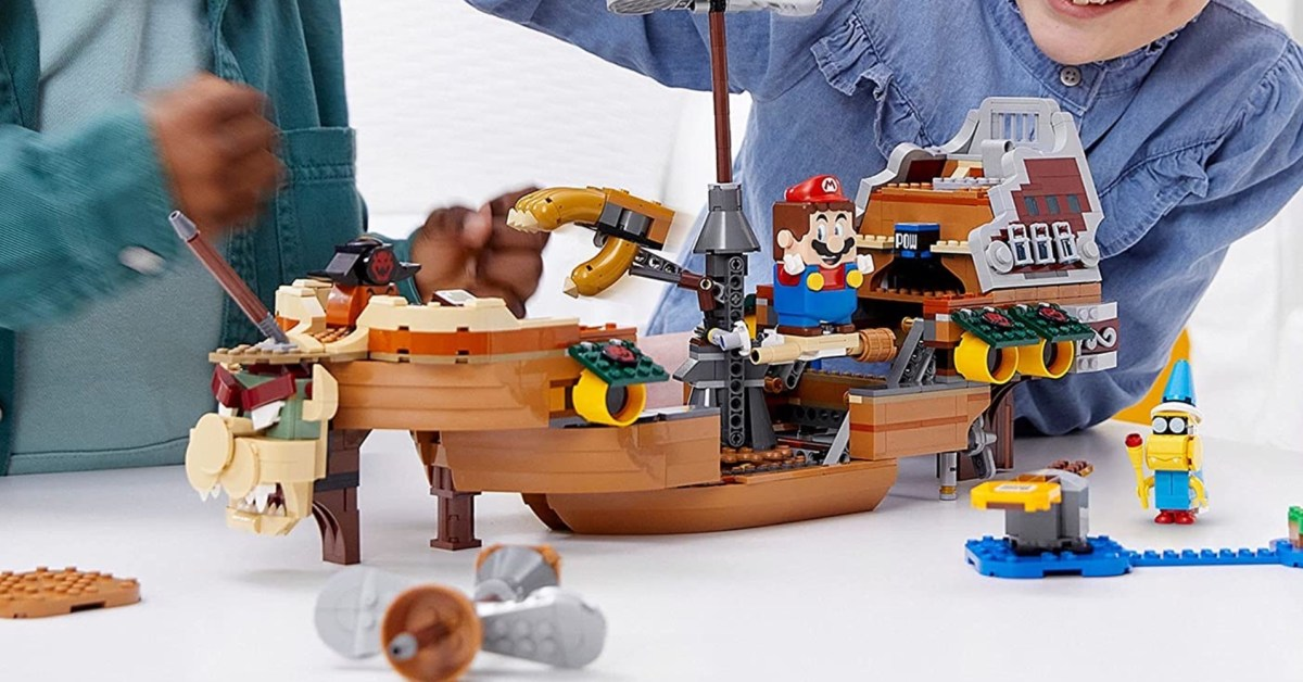 LEGO Bowser's Airship joins Mario 2021 summer wave - 9to5Toys
