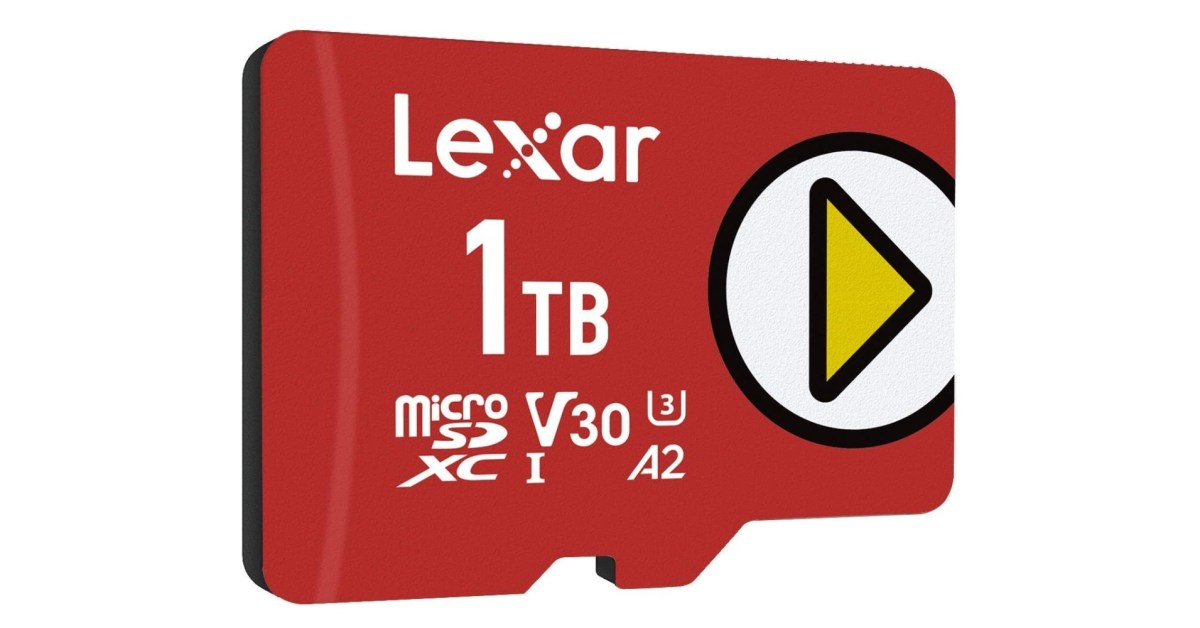 Save up to 25% on Lexar microSD cards: 1TB $186, more from $38.50 - 9to5Toys