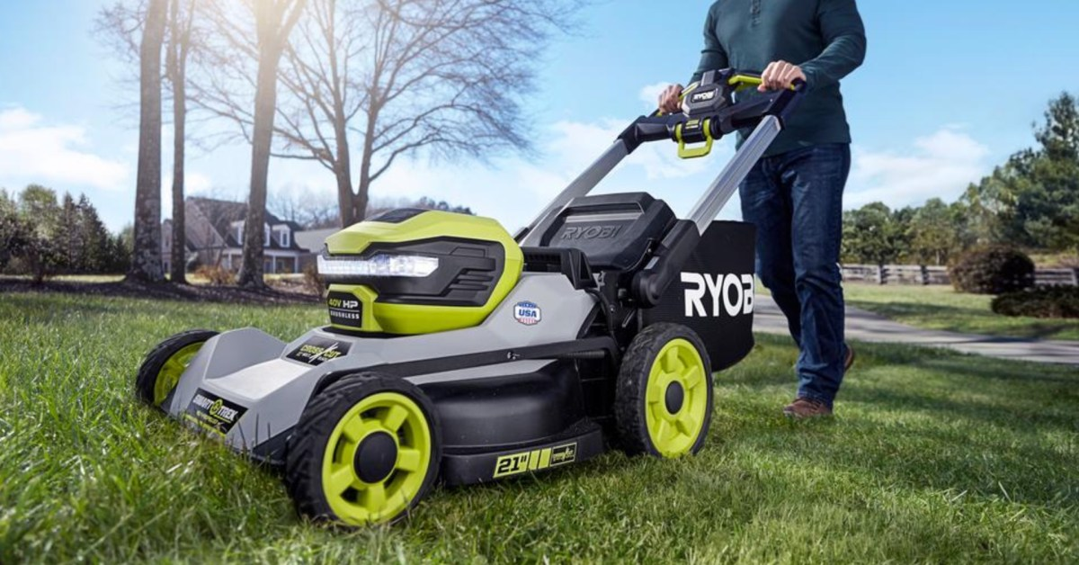 Ditch gas and oil this summer with RYOBI electric mowers, pressure washers, more from $79 - 9to5Toys