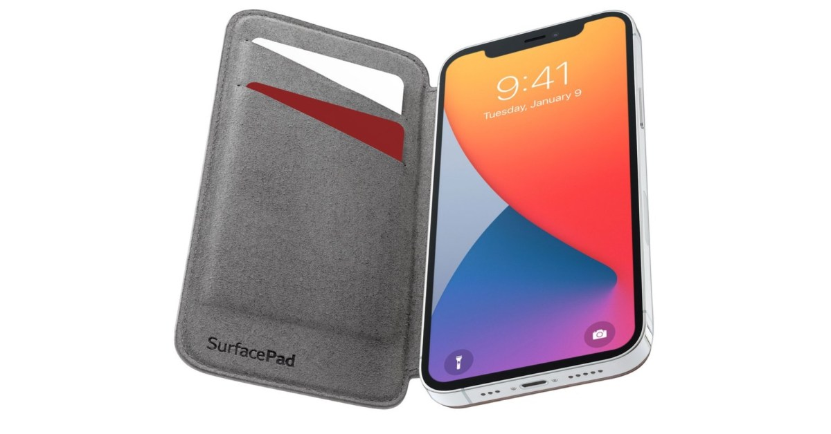 Twelve South MagSafe SurfacePad arrives as iPhone 12 wallet - 9to5Toys