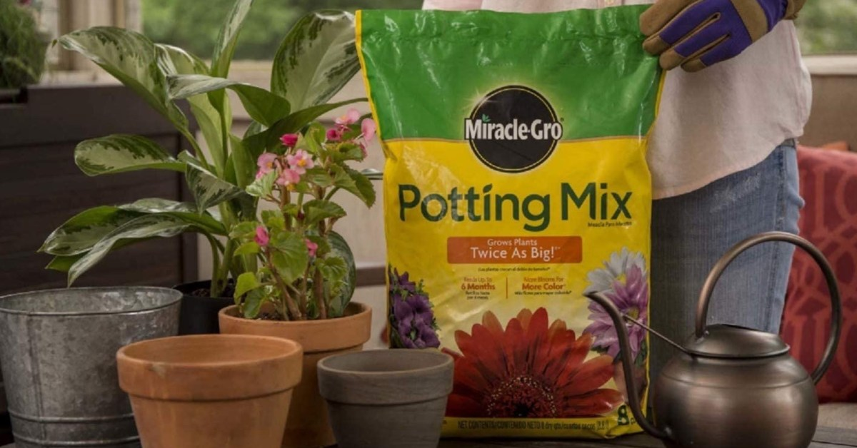 Treat your flowers to this up to 63% off Miracle-Gro potting mix Gold Box from $6
