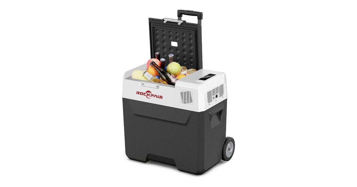 ROCKPALS' latest 12V portable 53-Qt. in-car fridge/freezer hits new low at $186 (Save 51%)
