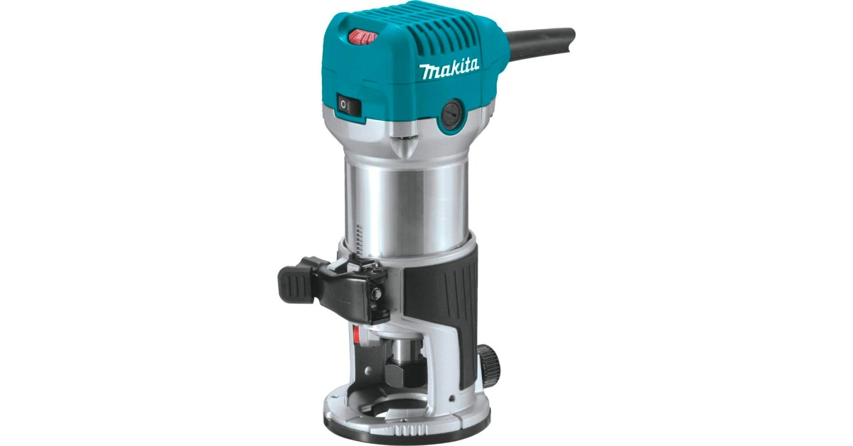 Makita's 1.25HP compact router is a must in any woodshop at a low of $73 (27% off)