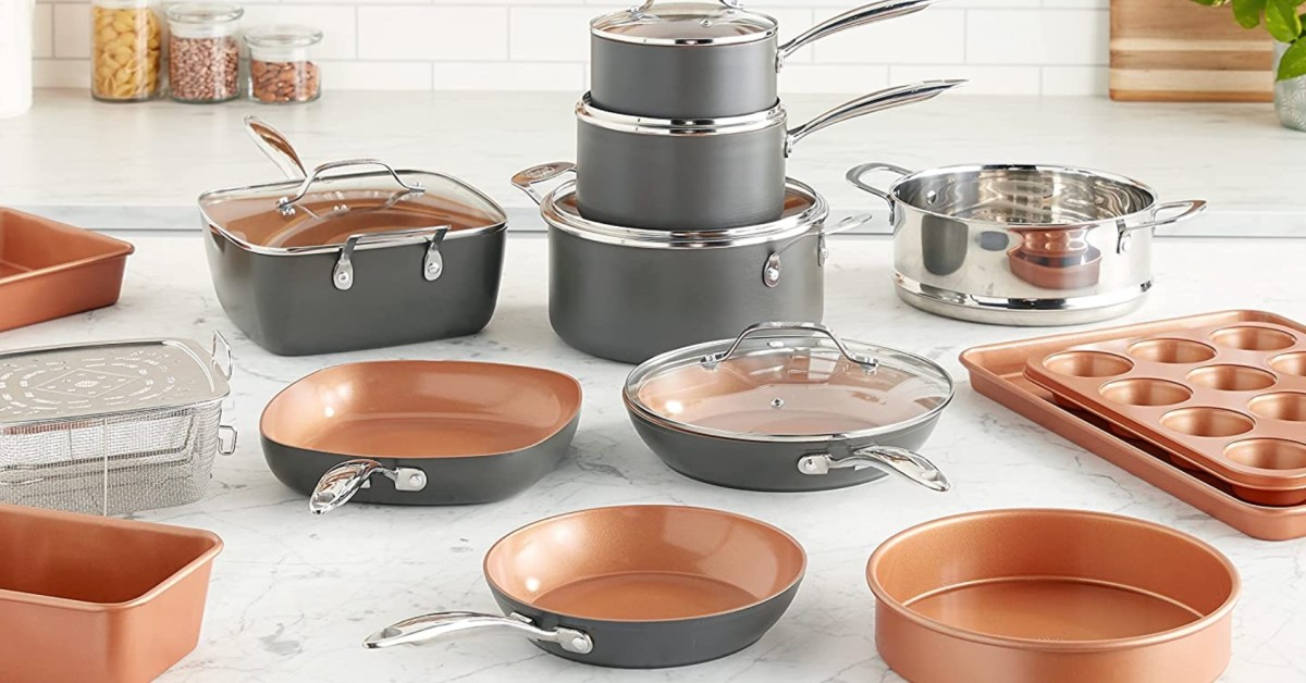 Gotham Steel's Pro 20-piece pots and pans set falls to low of $177.50 shipped