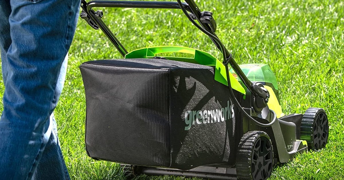 Greenworks' 48V 17-inch brushless battery-powered lawn mower hits new low at $243