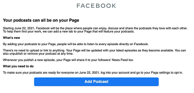 Facebooks New Podcast Listening Tools- 9WSO Download