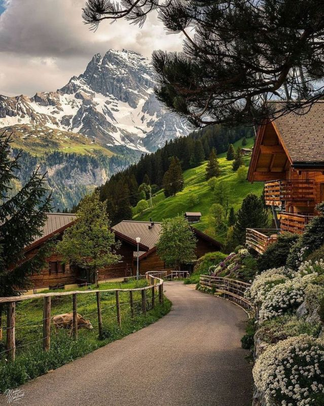 Murren-Switzerland-🇨🇭