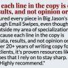 Jason Henderson Breakthrough Email Swipe Files- 9WSO Download