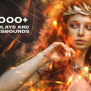 SuperMassive Bundle: 13,000+ Overlays & Backgrounds