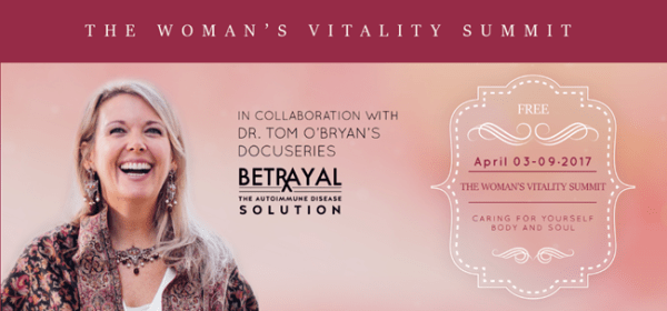 Dr Tom OBryan The Womans Vitality Summit April 39- 9WSO Download