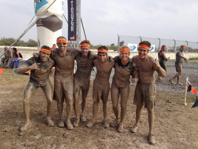 tough mudder finish