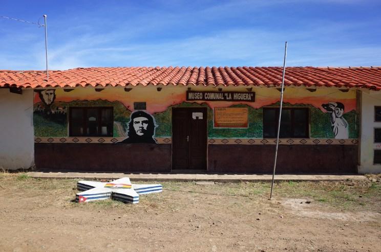 Ruta del Che, La Higuera