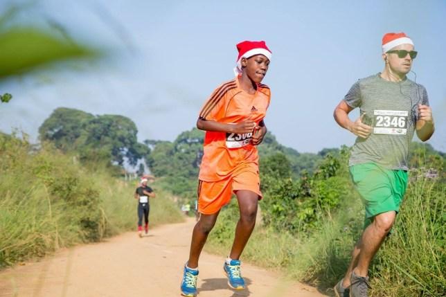 Kampala Santa Run