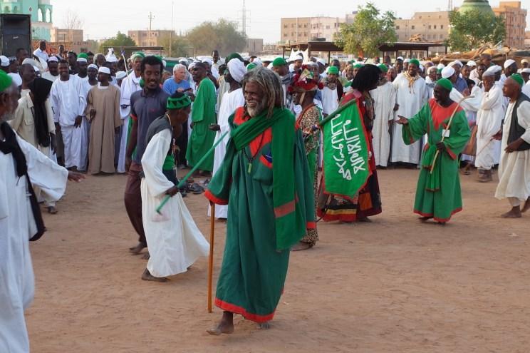 Sufi Whirling Dervishes Khartoum Sudan