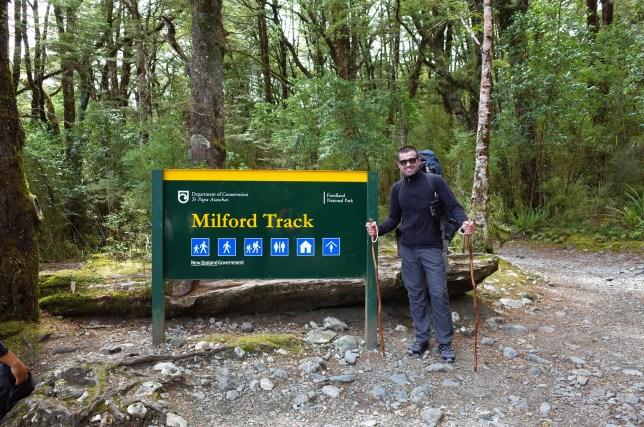 Milford Track start