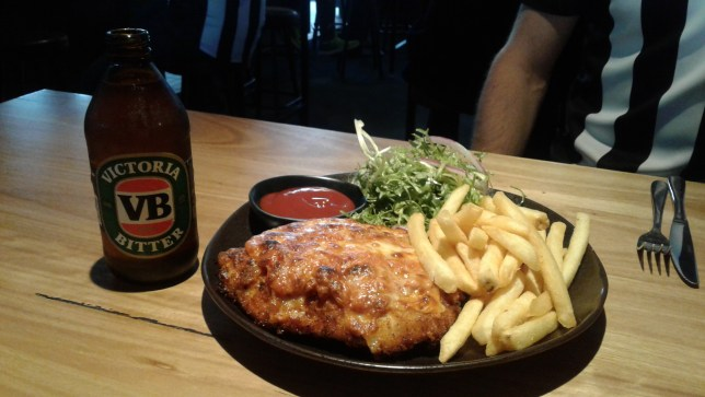 Parma and pot, Melbourne
