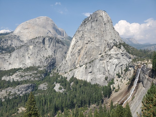 Half Dome on the way back