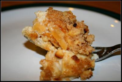 a bite of apple pie