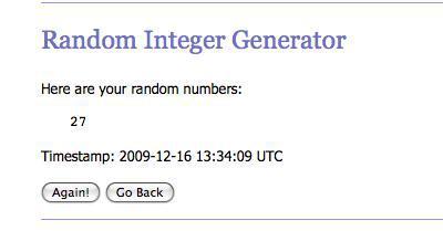 RANDOM.ORG - Integer Generator_1260971756704