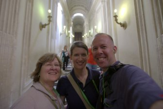 After visiting the Sistine Chapel