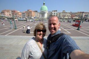 Pat & Kirk in Venice