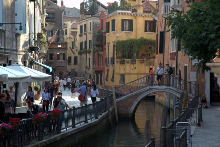 Walkways and canals