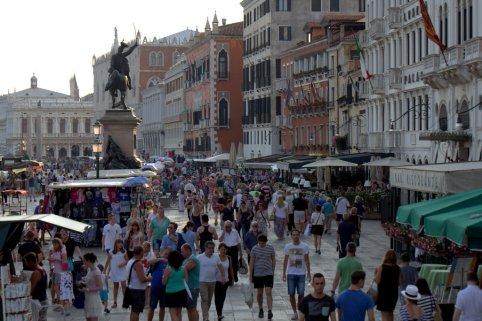 Venice is popular