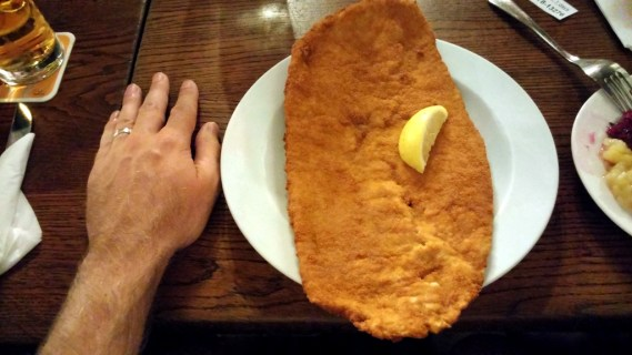 Now that's a schnitzel