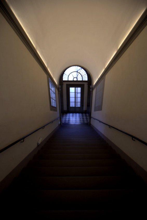 Uffizi stairs