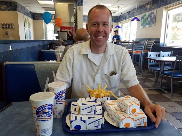 Kirk trying White Castle