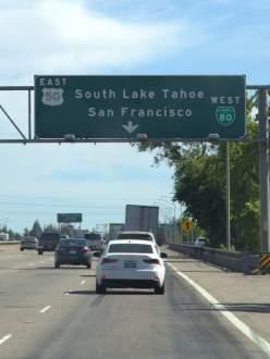 Heading towards San Francisco