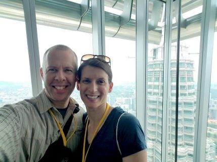 Selfie in Petrona Towers