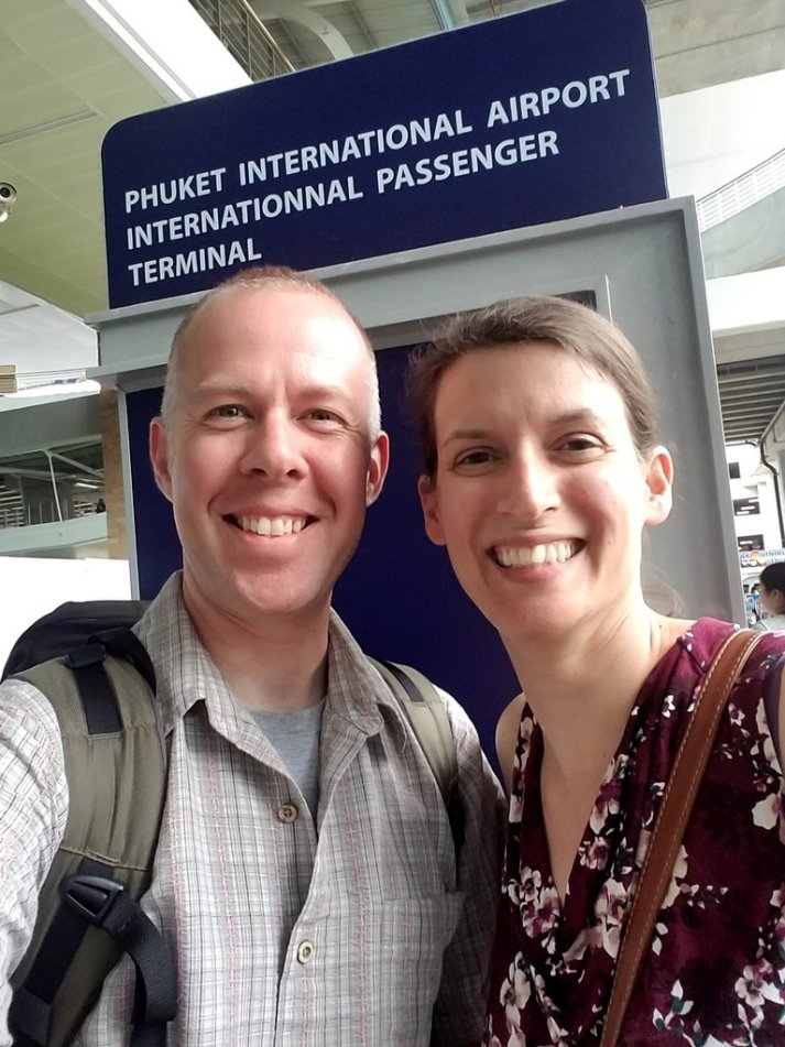 Arrived in Phuket