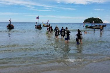Diving at Kata Beach