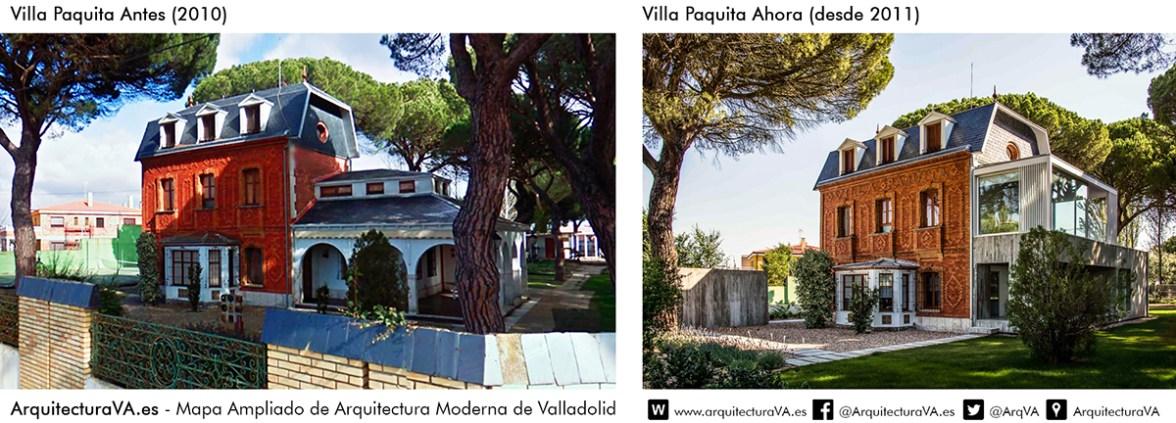 Villa Paquita - Comparativa - Arquitectura