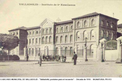 1910 - Archivo Municipal de Valladolid - Instituto Jose Zorrilla