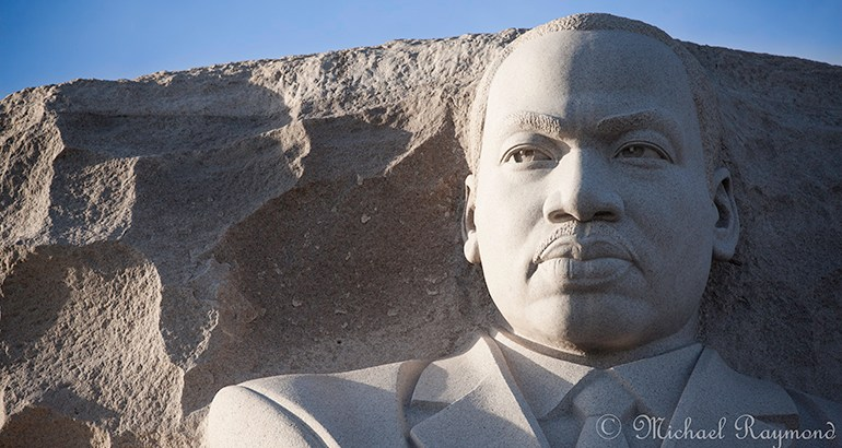 Martin Luther King, Jr. © Michael Raymond 2017