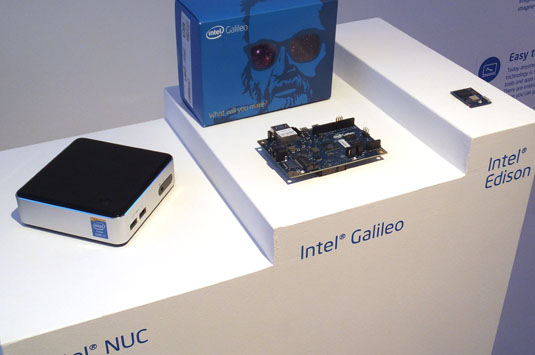 Galileo, Edison of NUC